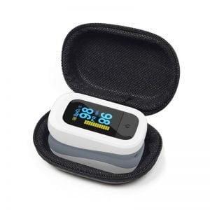 Oxímetro Digital de Dedo para Medir Pulso e Saturação do Sangue OxiMais