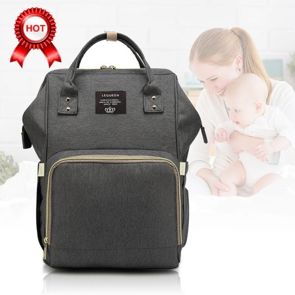 Bolsa Mochila para Bebê Maternidade Espaçosa