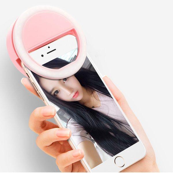 Ring Light Suporte de Luz Led para Selfie
