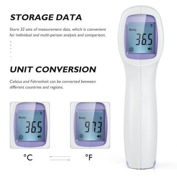 Termômetro Digital Infravermelho NouTouch