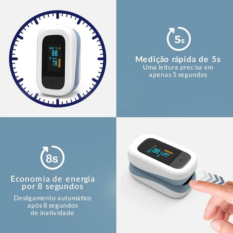 oxímetro digital de dedo para medir pulso e saturação do sangue oximais+ 0001 group 1