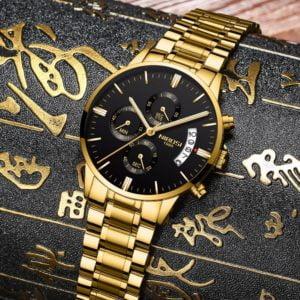 Relógio Nibosi SteelWater Masculino