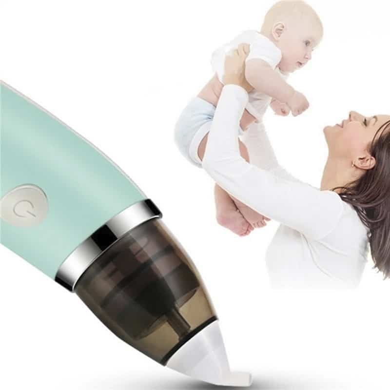 Aspirador Nasal para Bebê Elétrico Xô Meleca