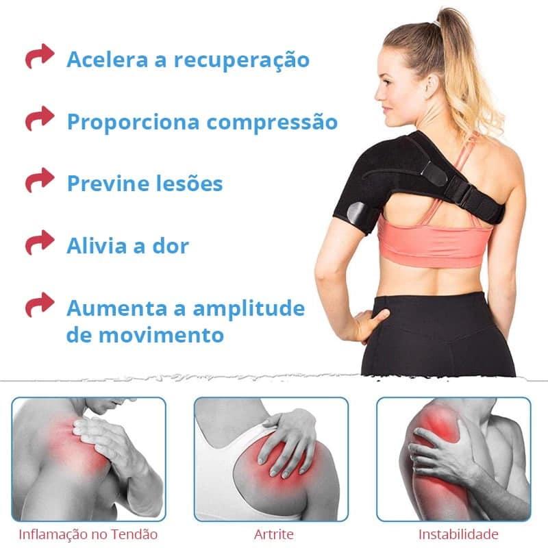 Aparelho Ortopédico para Bursite no Ombro