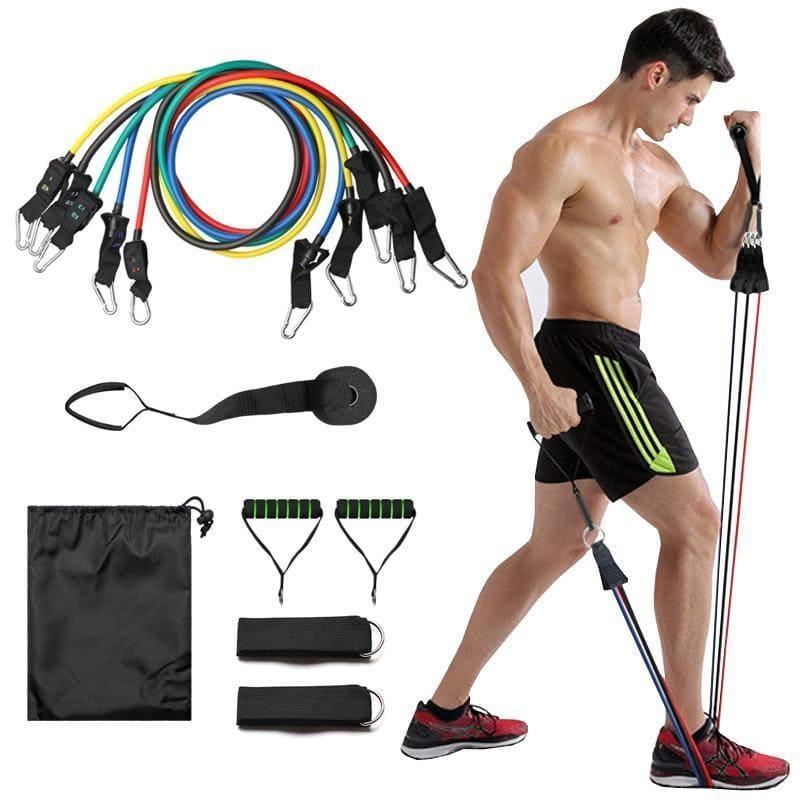 Elástico para treino em casa Turbo Muscle 3.0