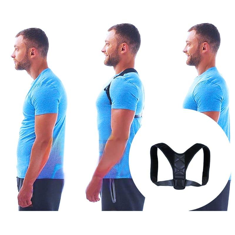 Corretor Postural para dores nas costas Na Postura