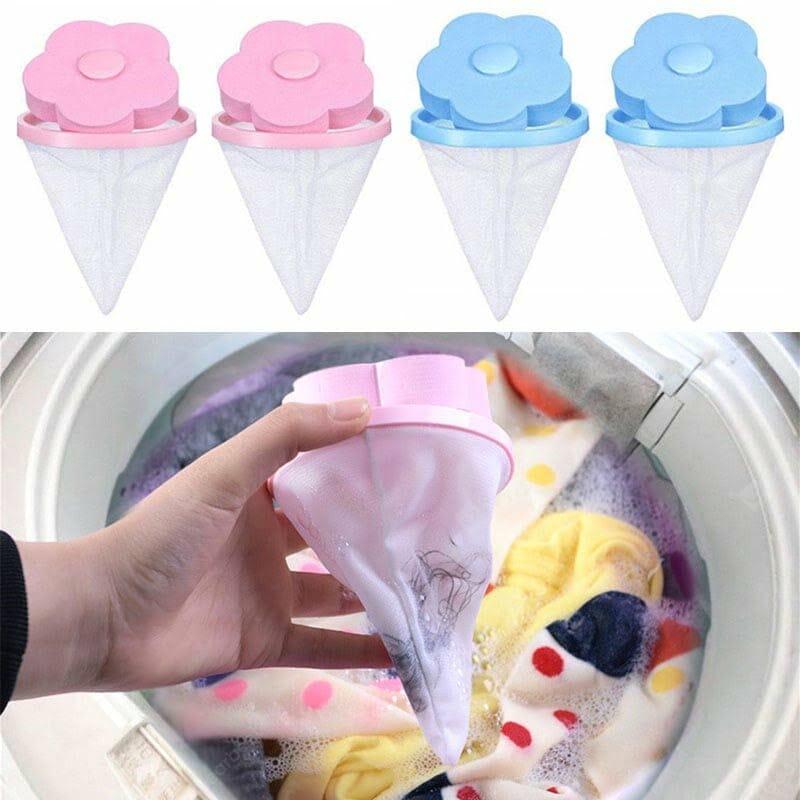 Filtro Mágico para lavagem de roupas TurnOff Dirt 4 unidades