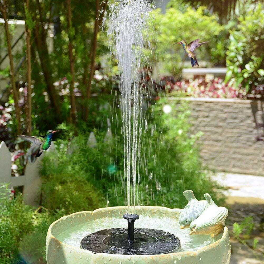 Fonte de Energia Solar para Pássaros com Kit de Fácil Instalação para o Jardim