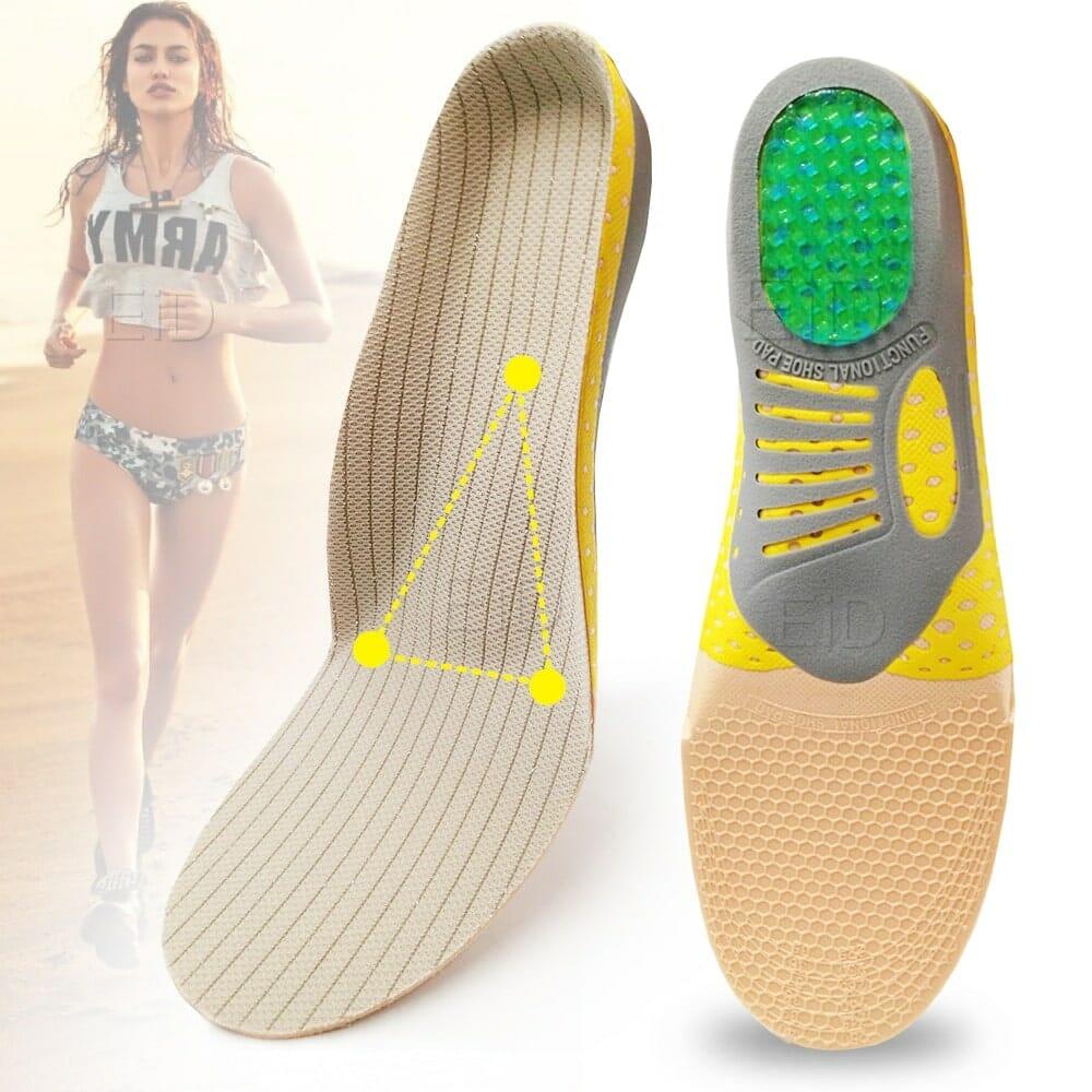 Palmilhas Ortopédicas para Fascite Plantar FeetPro Tamanhos 33 ao 44