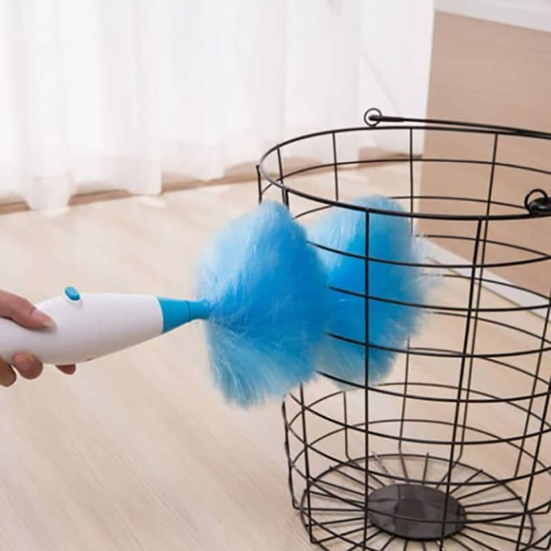 Espanador elétrico magnético 360 graus de Limpeza Fácil e Prática