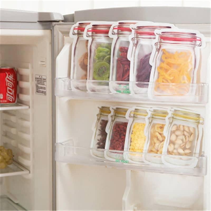 Kit Porta Alimentos Bag Save 20 Peças