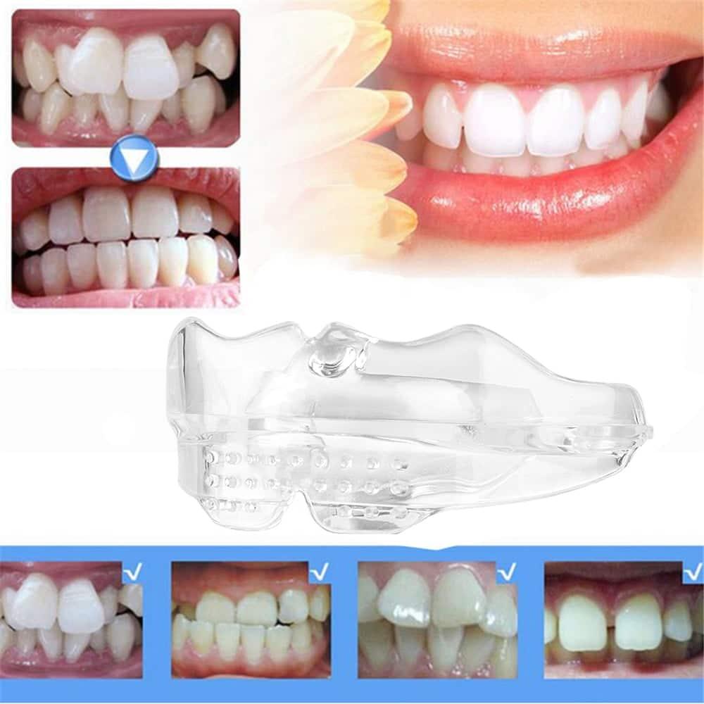 Placa Dental de Silicone para Tratamento de Bruxismo NoBrux