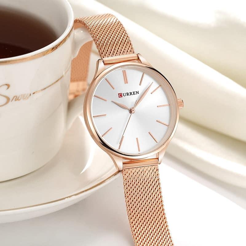 Relógio Feminino Quartzo Curren 9024