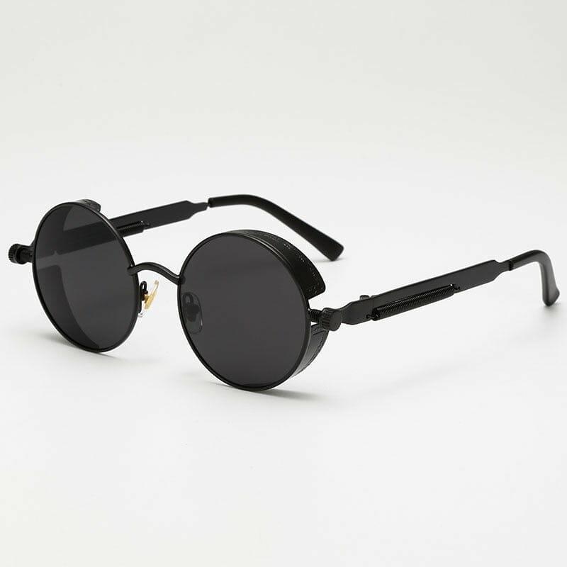 Óculos Round Steampunk Unissex
