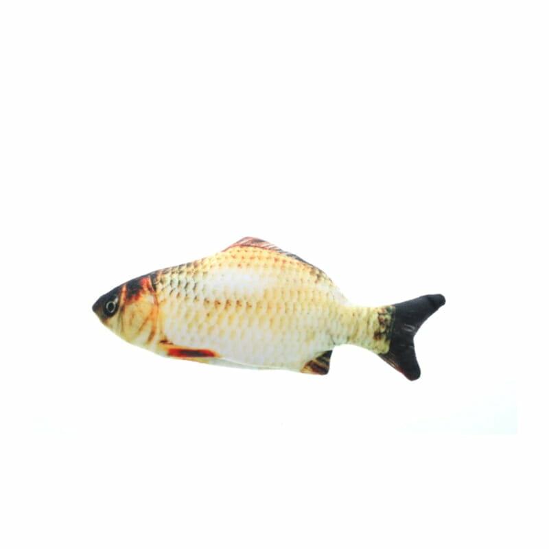 Peixe de Pelúcia Animado Brinquedo de Gato com Bateria Recarregável USB - Peixoca