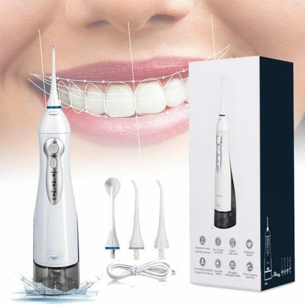 Jato de água Irrigador Oral elétrico para limpeza bucal Pro 100% Original