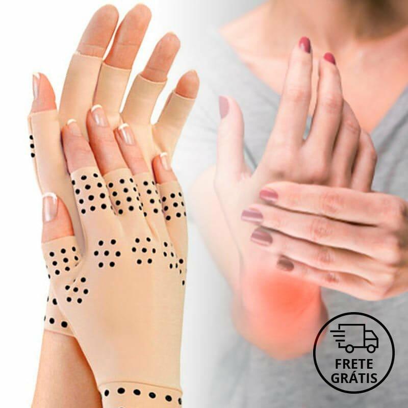 Luvas para terapia magnética contra artrite nas mãos - Compre 1 Leve 2 pares