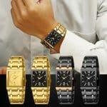 Relógio de Quartzo Exclusivo Linha Premium À Prova D'água Lançamento