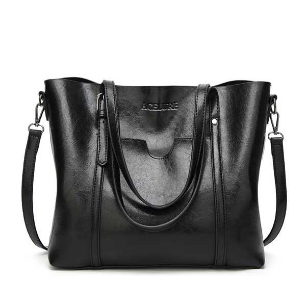 acelure mulheres saco de luxo bolsas de couro das mulheres de cera de leo sacos deblack 0.jpg