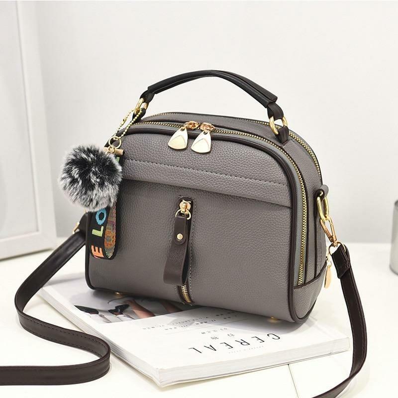 bolsa feminina pequena tranversal tiracolo cinza mania look store direitos reservados de uso.jpg