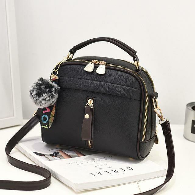 bolsa feminina pequena tranversal tiracolo preta mania look store direitos reservados de uso.jpg