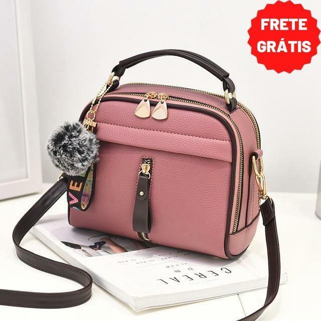 bolsa feminina pequena tranversal tiracolo rosa mania look store direitos reservados de uso.jpg