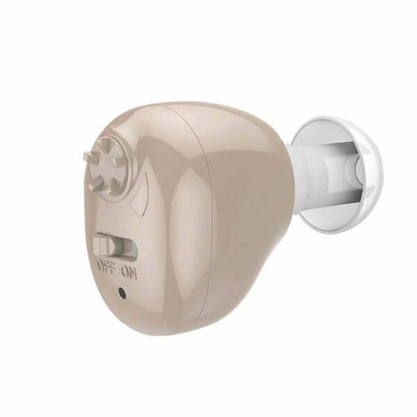 aparelho auditivo recarregável usb discreto para perda auditiva suave a moderada zoomaudi